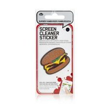 Screen Cleaner Stickers - Burger