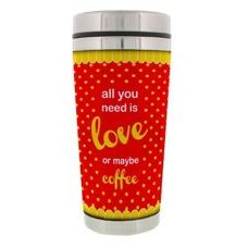 Thermobecher Love/Coffee