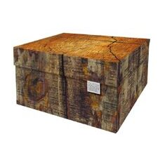 Dutch Design Storage Box Tree Trunk