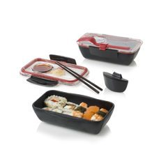 Bento Box - Lunchbox- Black+Blum