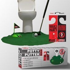 MAN Toilet Golf