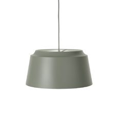 Groove Small Lampe 26x26 in Grün