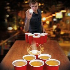 Trinkspiel Beer Pong Game XXL
