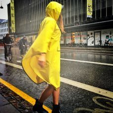 The People's Poncho Fisherman's Yellow 2.0